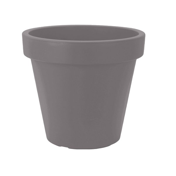 Bloempot 80 cm grijs
