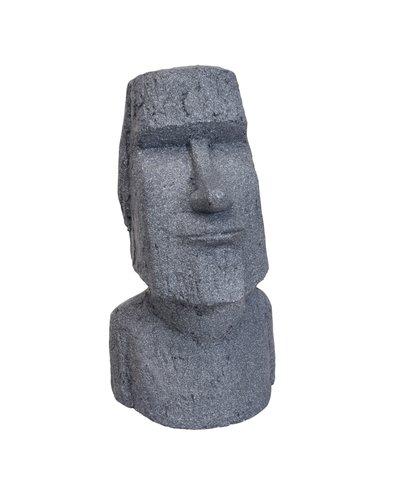 Paashoofd / Moai 55 cm (grijs)