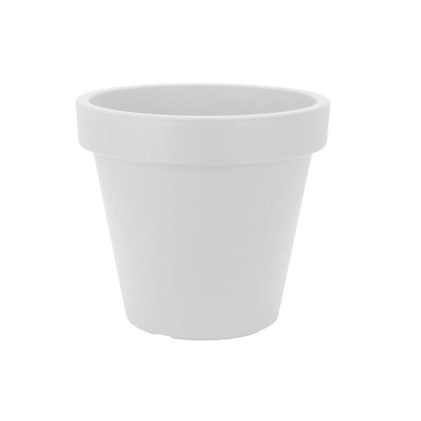 Bloempot 60 cm wit