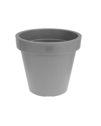 Bloempot 60 cm grijs