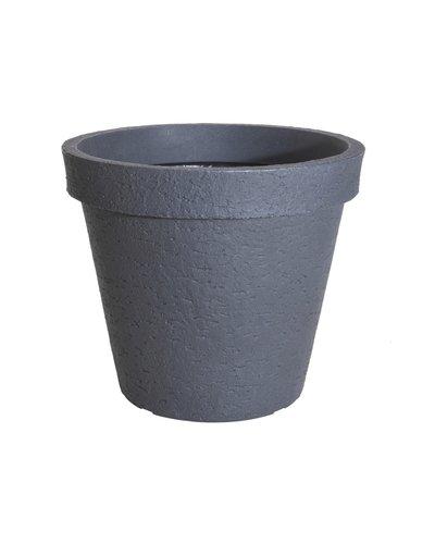 Bloempot stonelook 60 cm (grijs)
