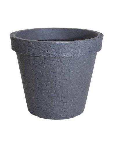 Bloempot stonelook 80 cm (antraciet)
