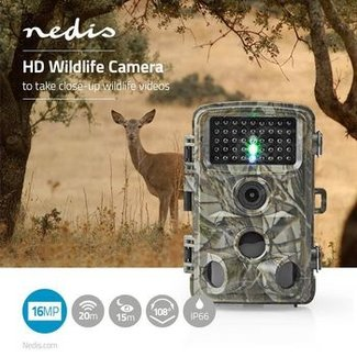Nedis HD wildlife-camera | 16 MP | 5 MP CMOS
