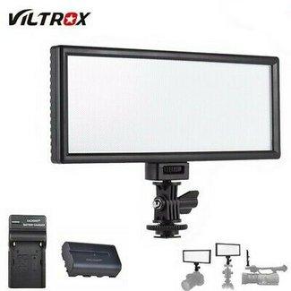 Overig Viltrox L132T Kit LED Paneel met Accu en DC adapter
