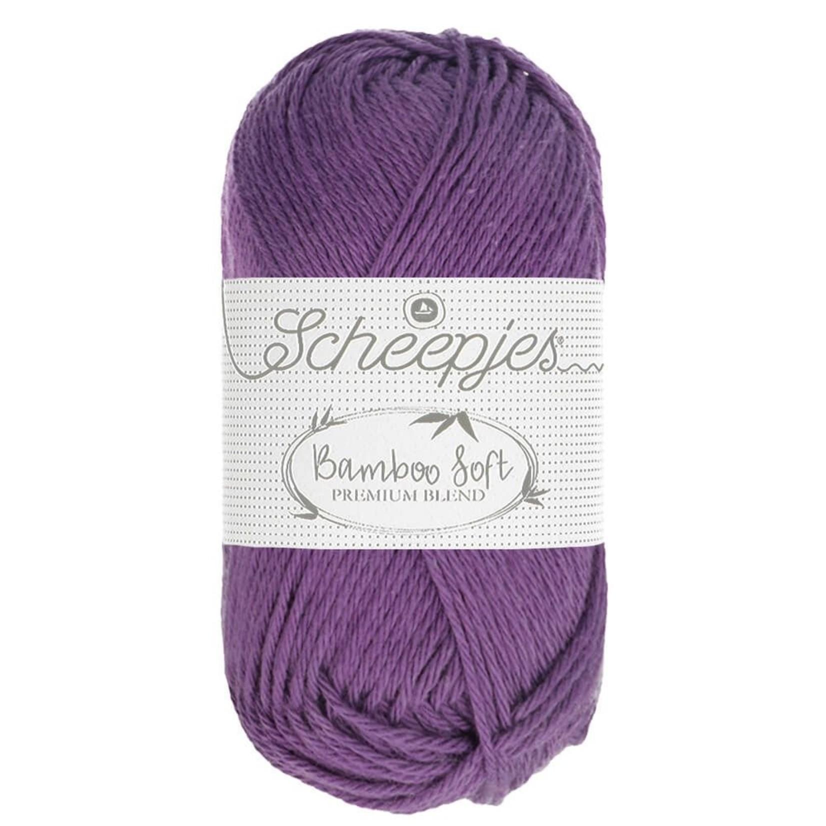 Scheepjes Scheepjes Bamboo Soft kleur 252 Royal Purple 50 gram
