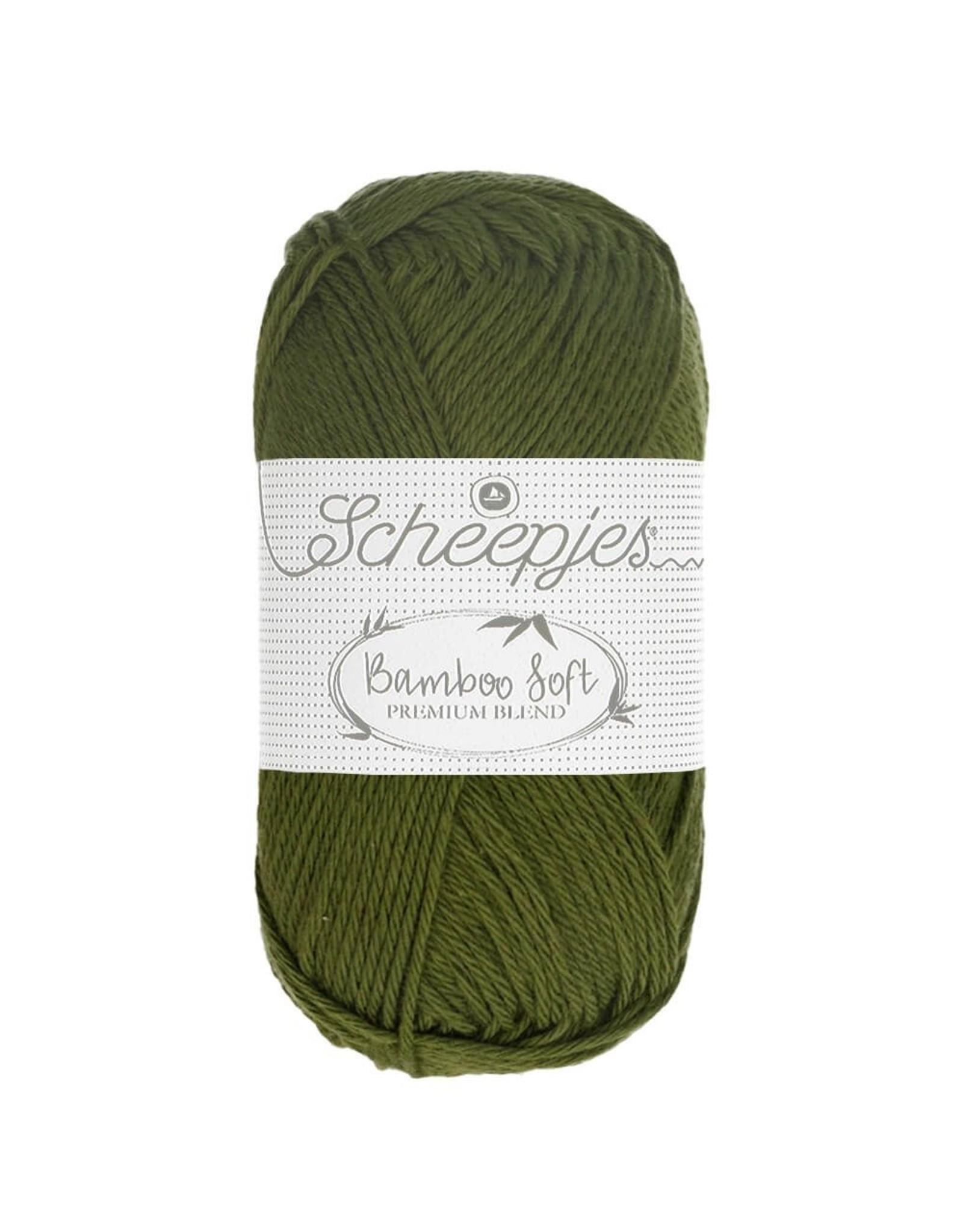 Scheepjes Scheepjes Bamboo Soft kleur 256 Rich Cream  50 gram