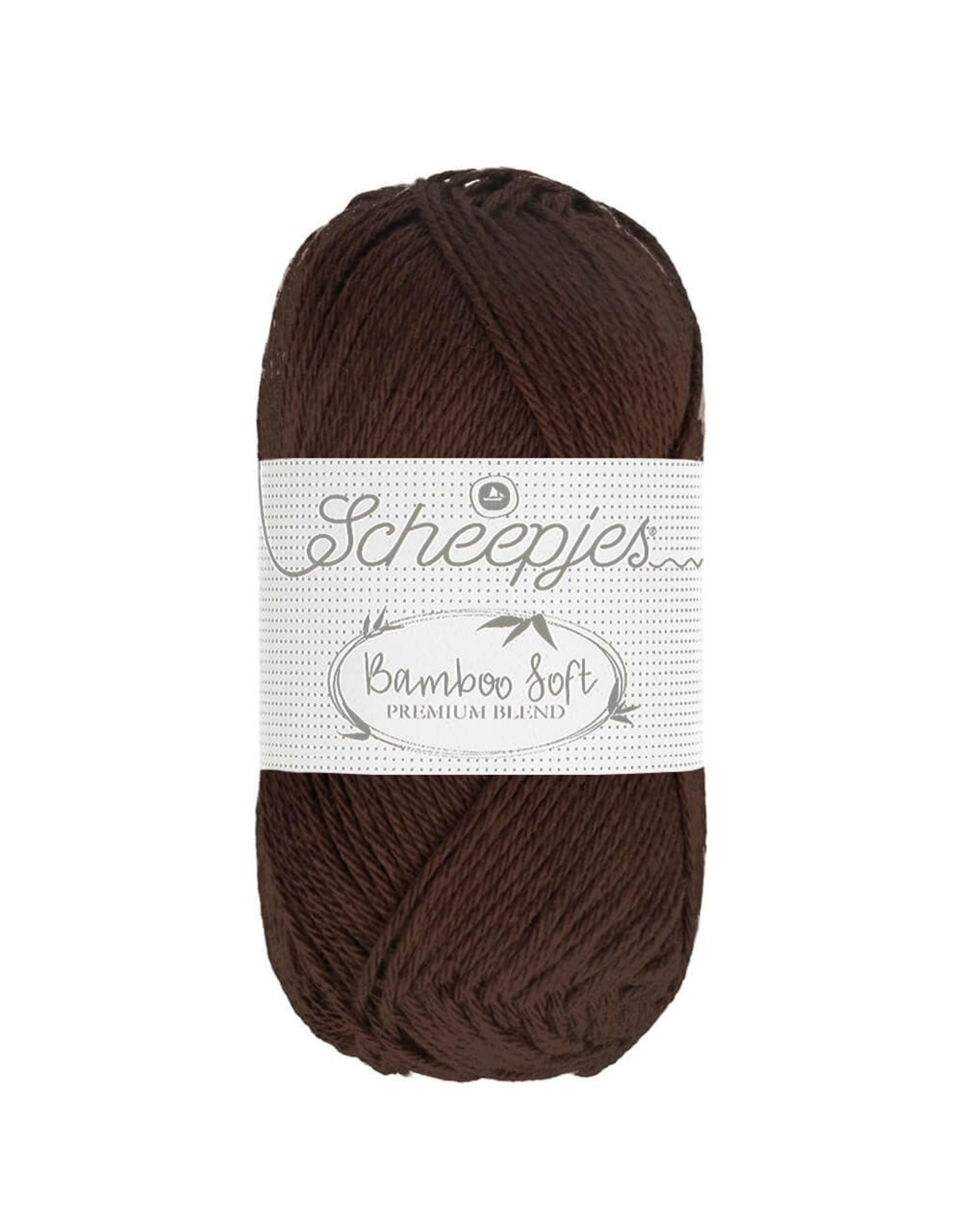 Scheepjes Scheepjes Bamboo Soft kleur 257 Smooth Cocoa  50 gram