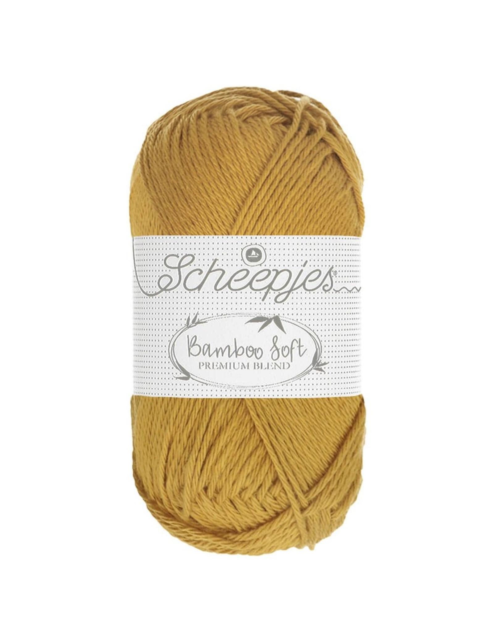 Scheepjes Scheepjes Bamboo Soft kleur 260 Golden Nugget  50 gram