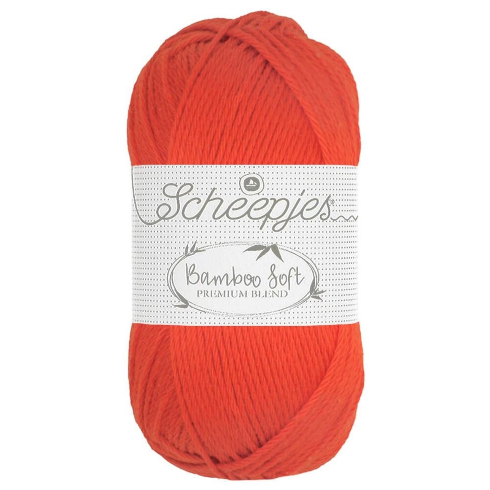 Scheepjes Scheepjes Bamboo Soft kleur 261 Regal Orange  50 gram