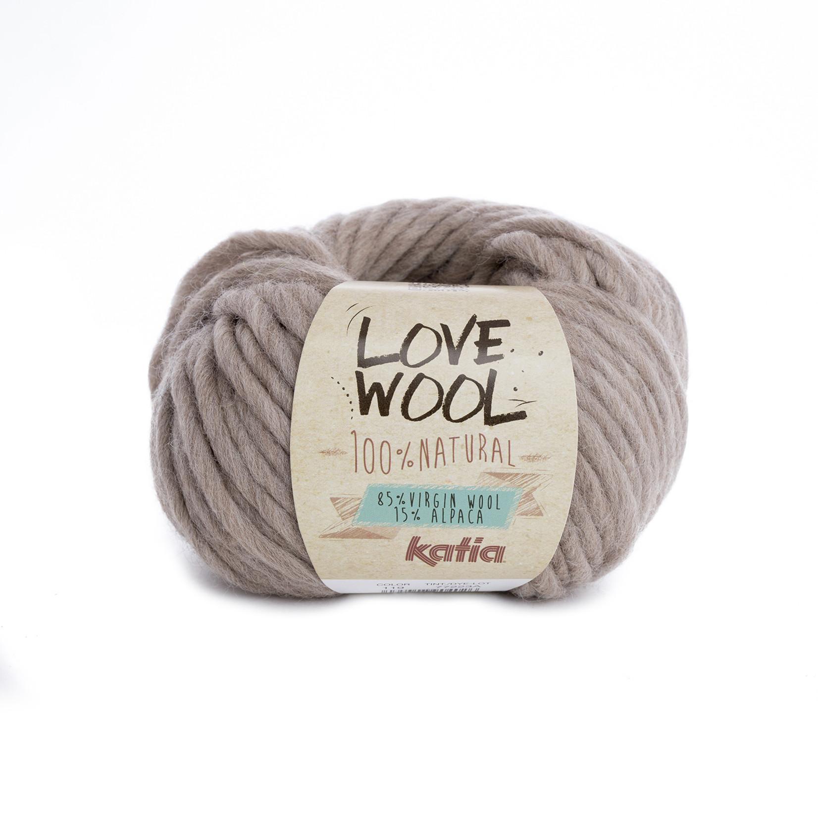 Katia Katia - Love Wool - kleur 119 - Beige - 100 gr. = 50 m.