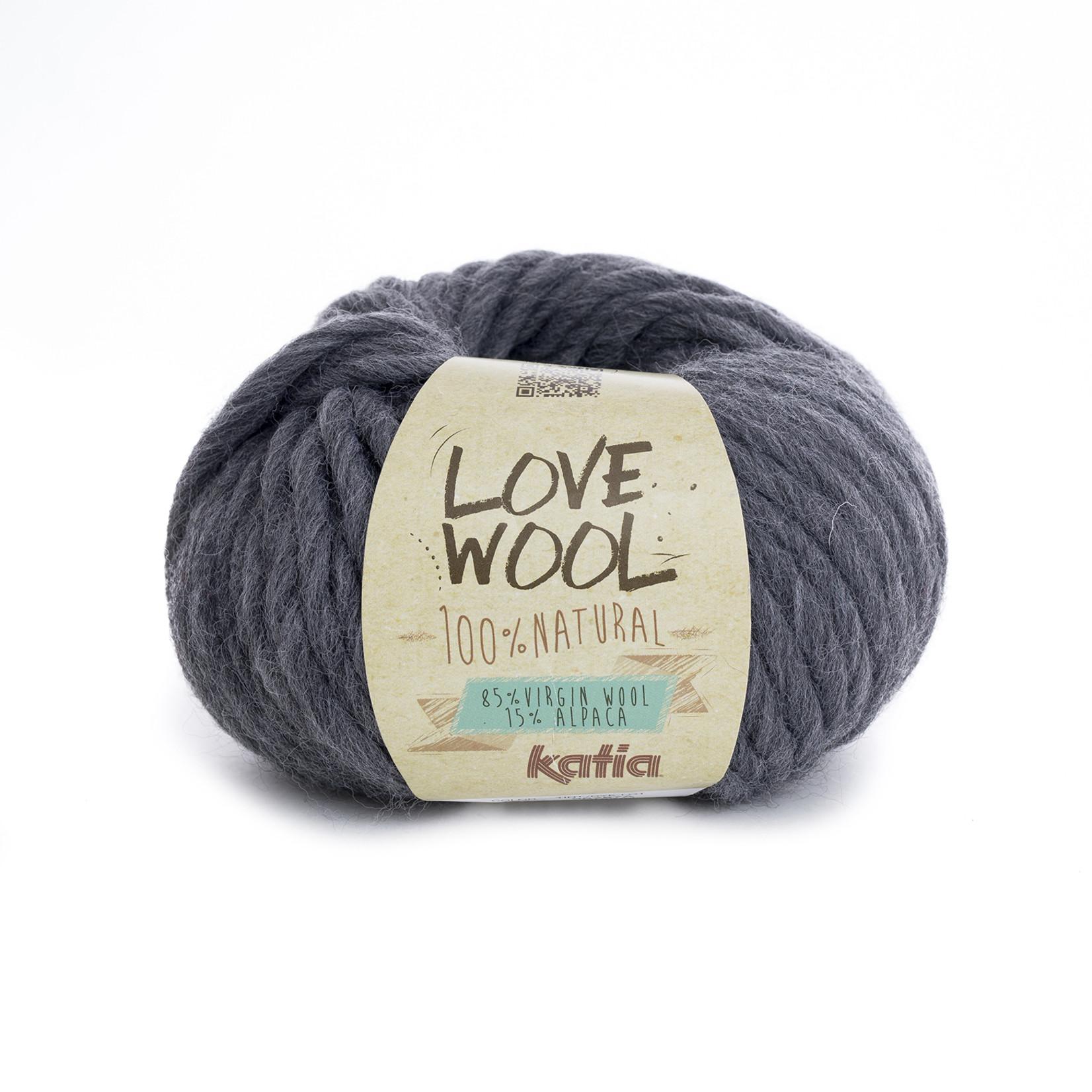 Katia Katia - Love Wool - kleur 107 - Grijs - 100 gr. = 50 m.