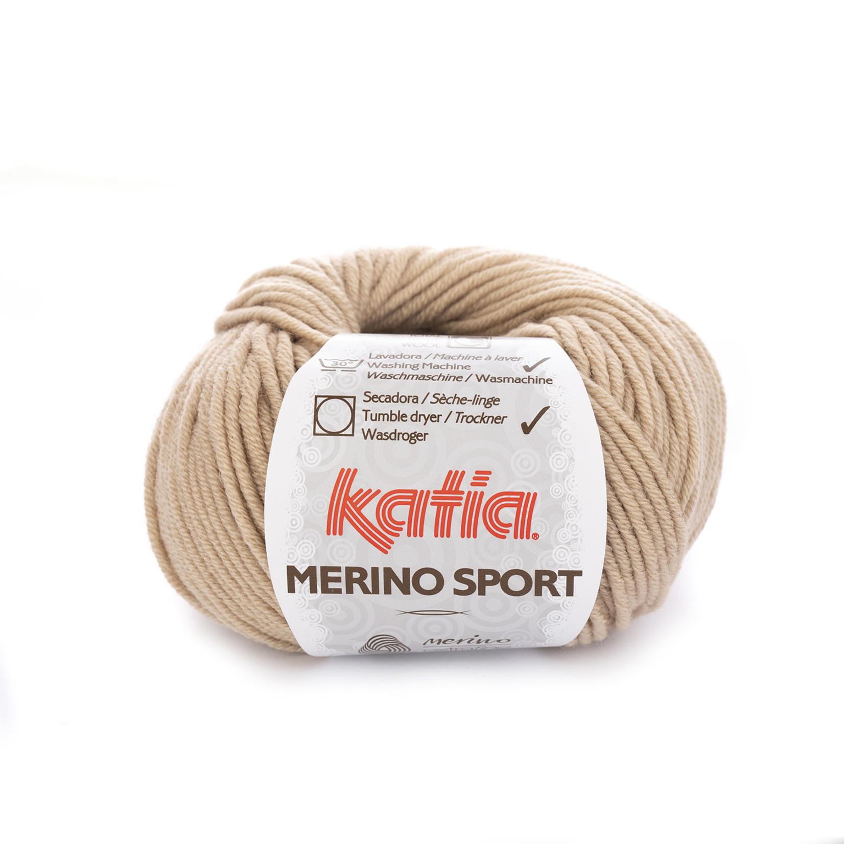 Katia Katia - Merino Sport - 9 Beige - 50 gr.