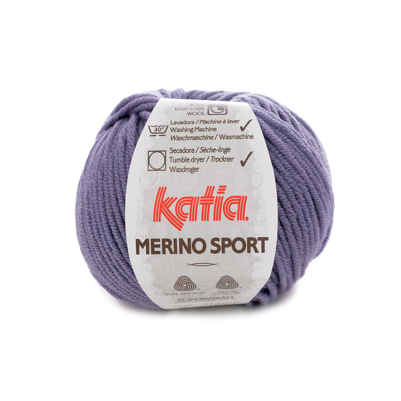 Katia Katia - Merino Sport - 58 Lila - 50 gr.