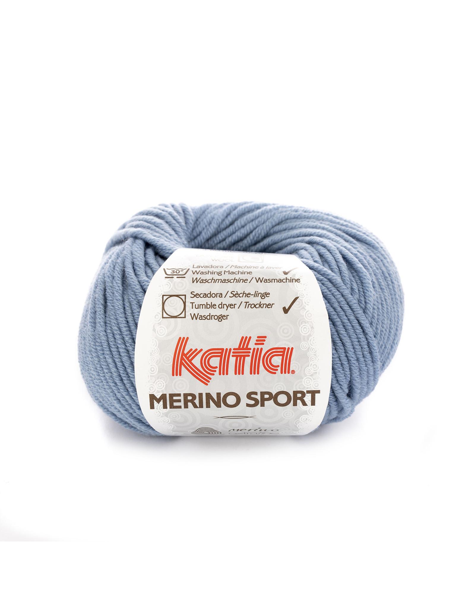 Katia Katia - Merino Sport - 48 Blauw - 50 gr.