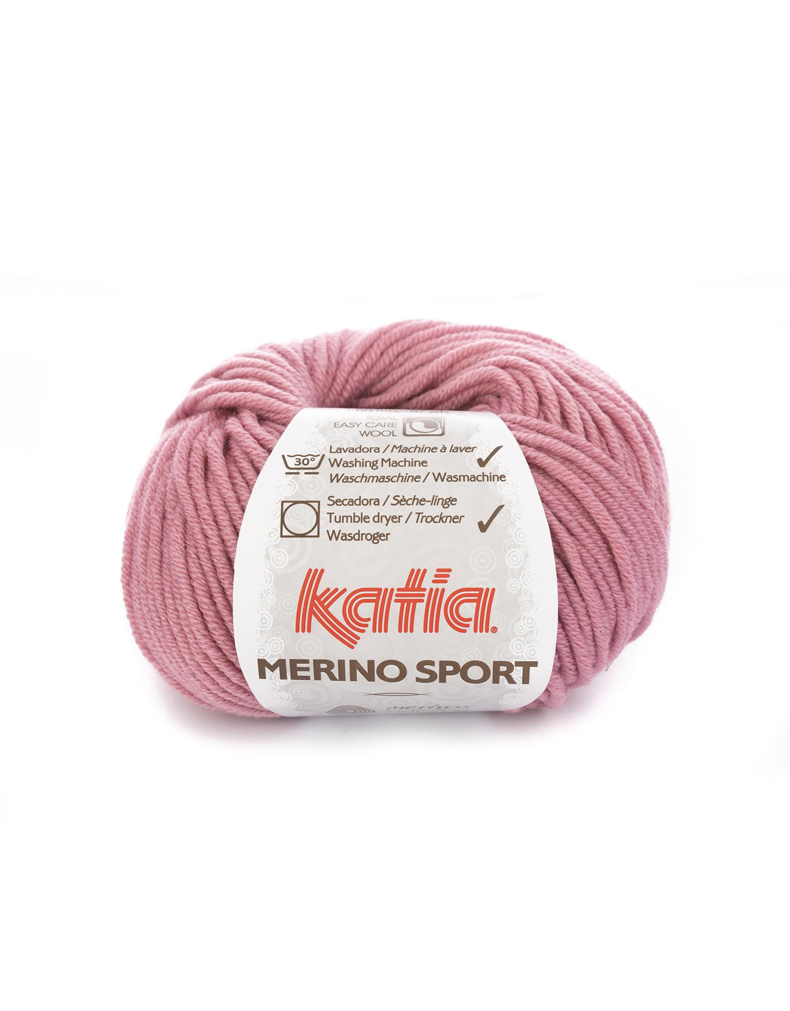 Katia Katia - Merino Sport - 28 Bleekrood - 50 gr.