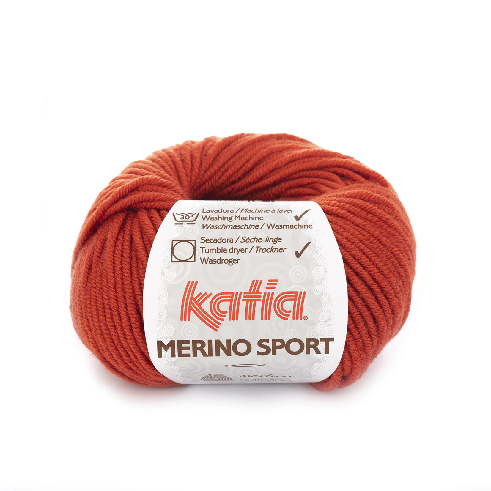 Katia Katia - Merino Sport - 20 Roestbruin - 50 gr.