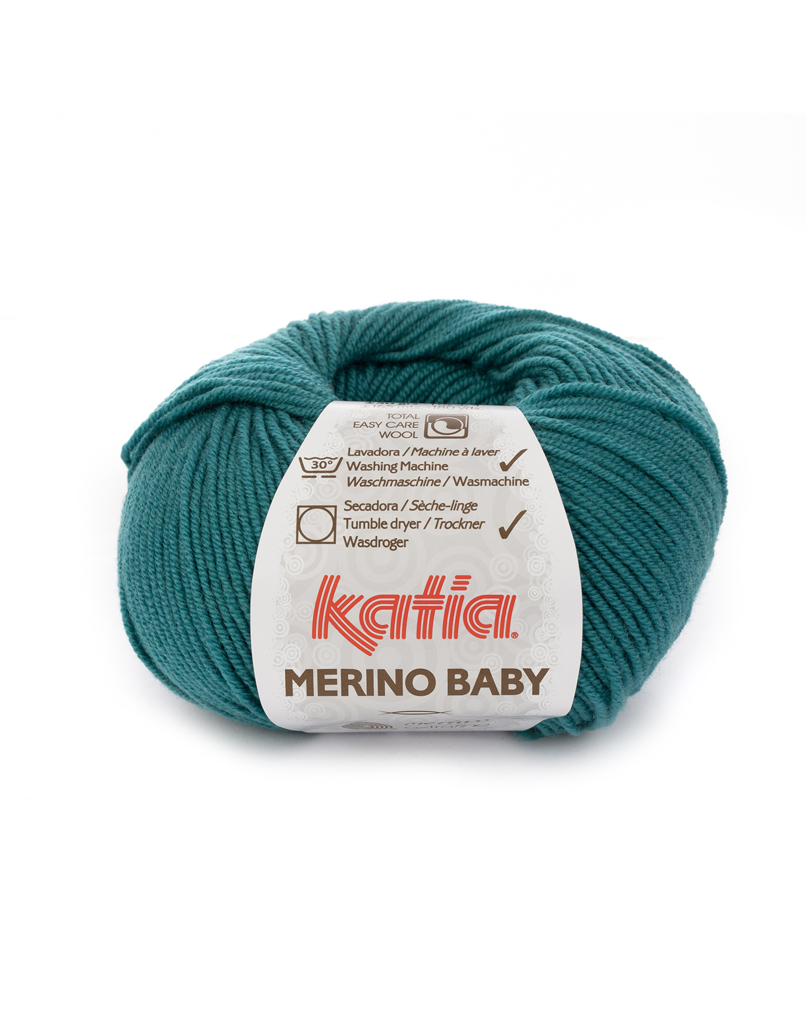 Katia Katia Merino Baby - 75 smaragdgroen - 50 gr. = 165 m.