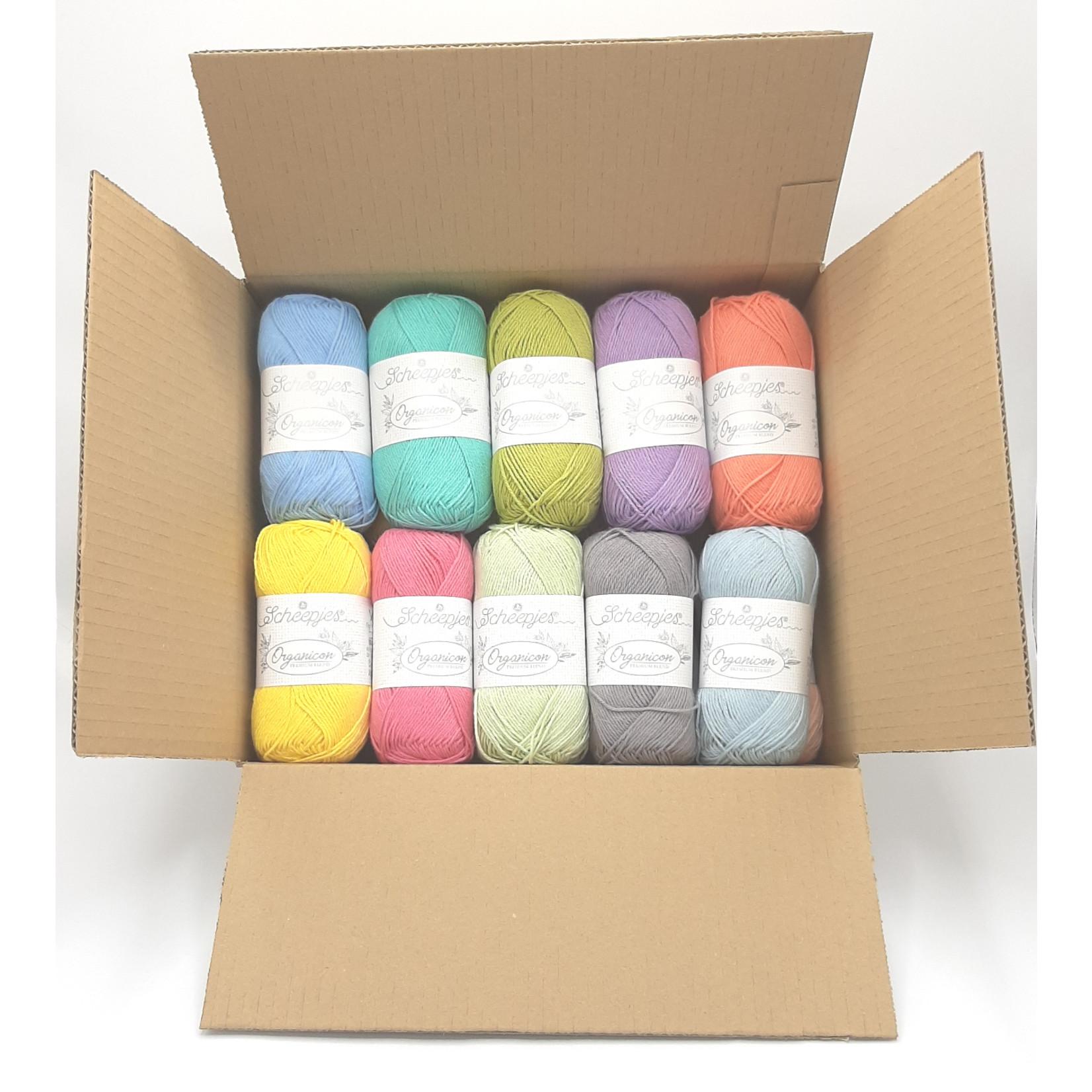 Scheepjes Scheepjes Organicon Assortiment - 21 kleuren x 50 gr.