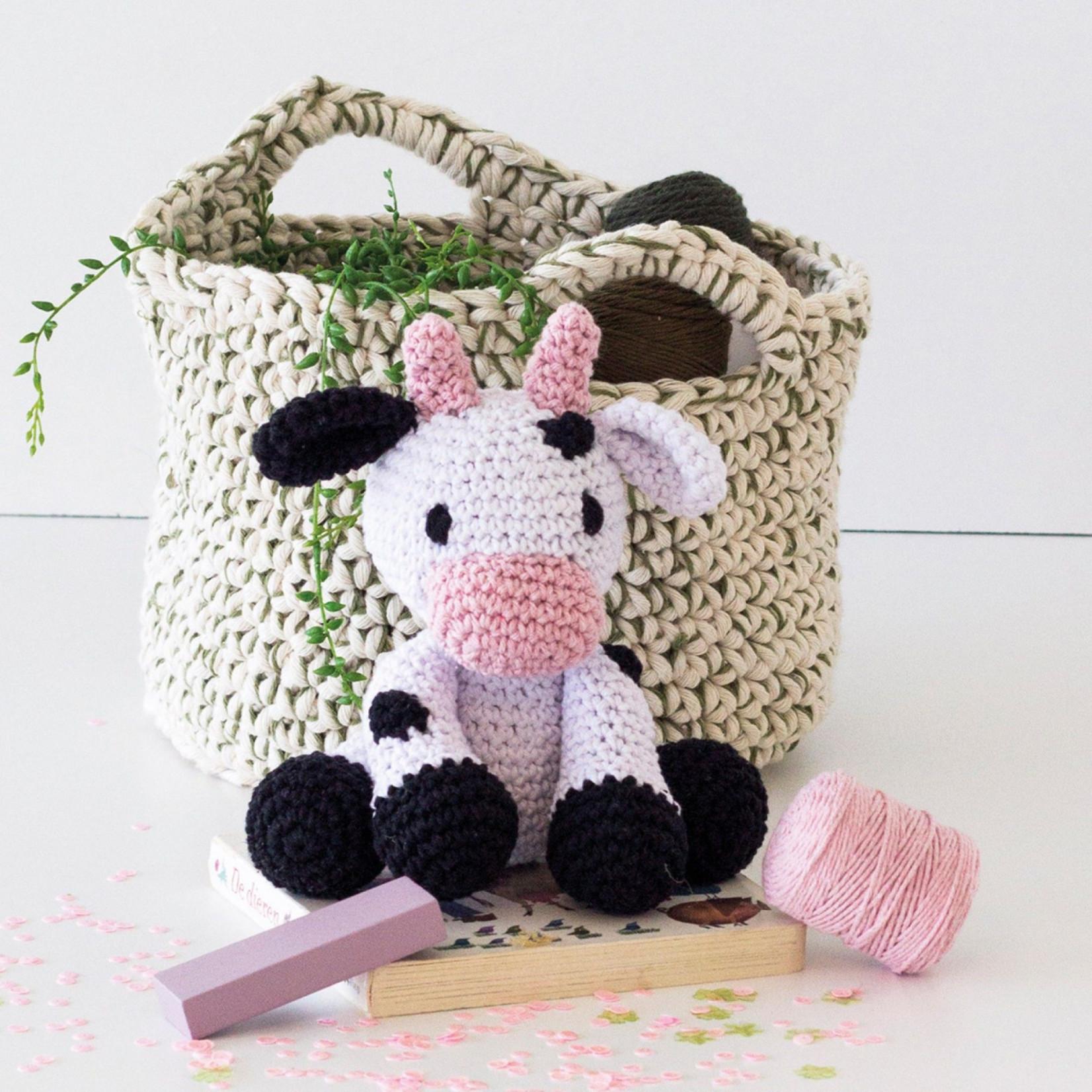 Hoooked Hoooked Amigurumi DIY Haakpakket Koe Kirby
