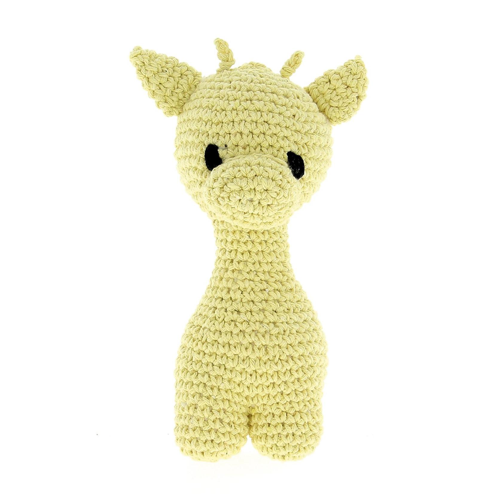 Hoooked Hoooked Amigurumi DIY haakpakket Giraffe Eco Barbante Popcorn