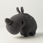 Hoooked Hoooked Amigurumi DIY  Rhino Dex Eco Barbante Lava