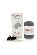 Hoooked Hoooked Amigurumi DIY Haakpakket Rhino Dex Eco Barbante Lava
