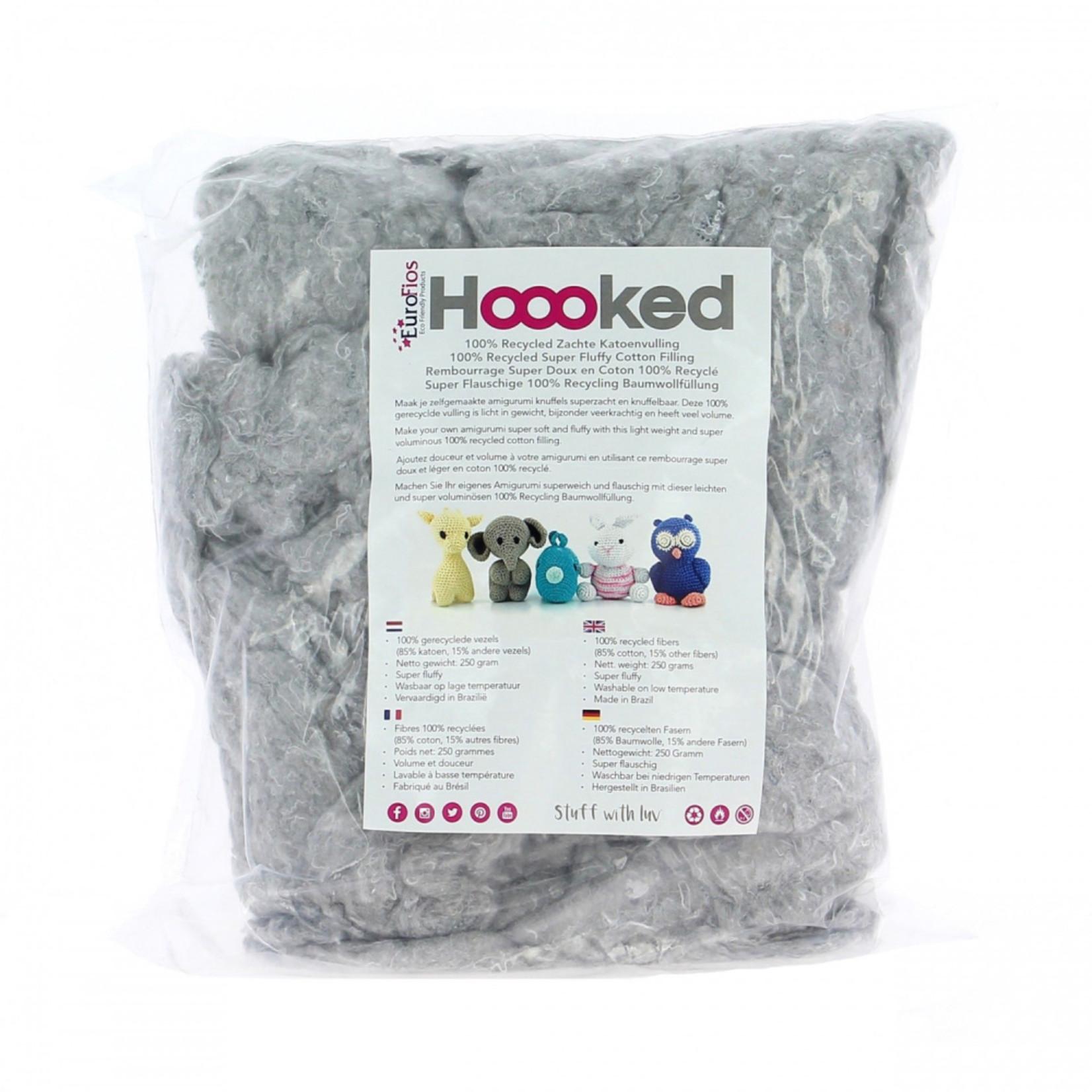 Hoooked Hoooked  vulling Cloud 250 gr. 100% gerecycelde zachte katoen