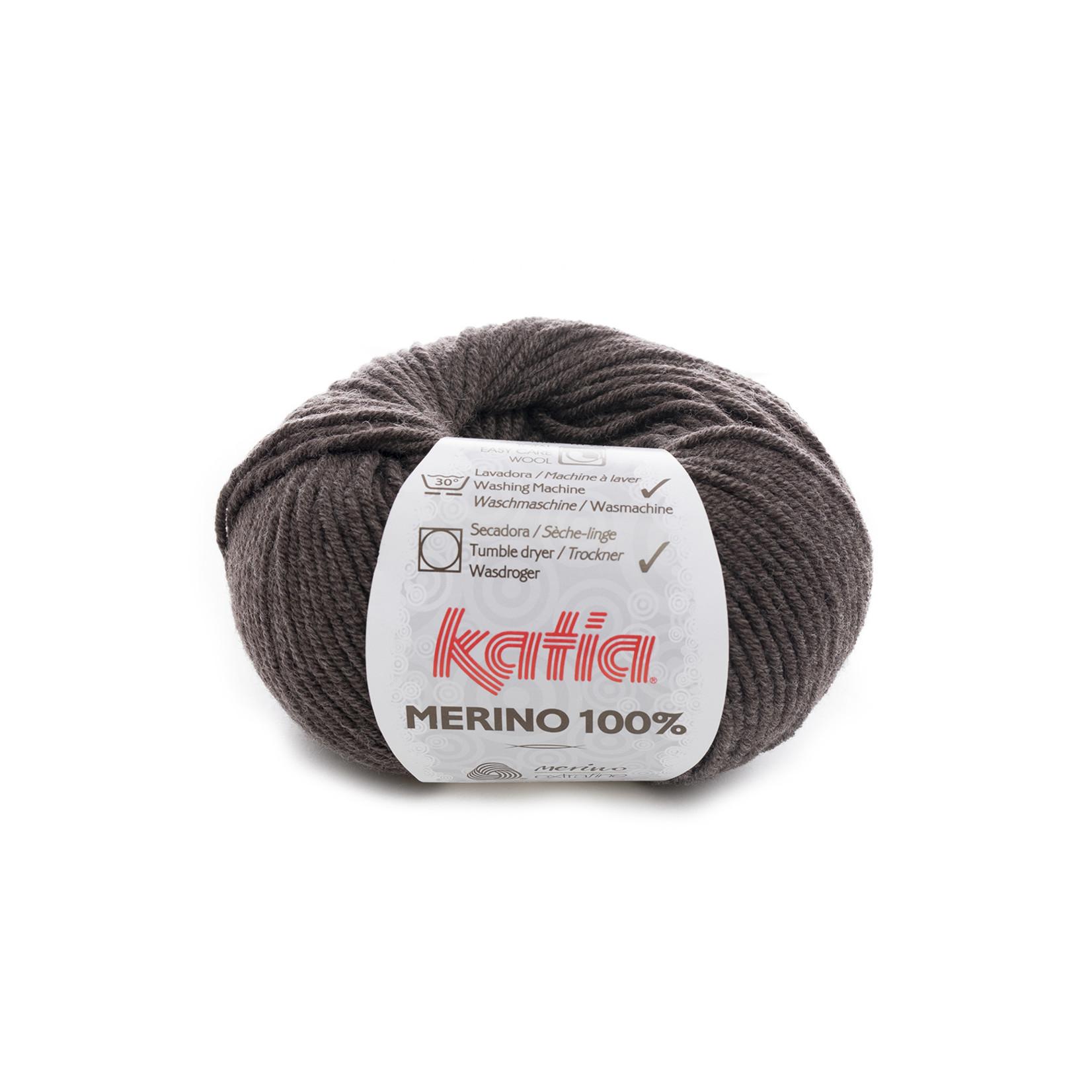 Katia Katia Merino 100% - 502 - Medium bruin_ - 50 gr. = 102 m.