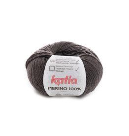Katia Katia Merino 100% - 502 - Medium bruin - 50 gr.
