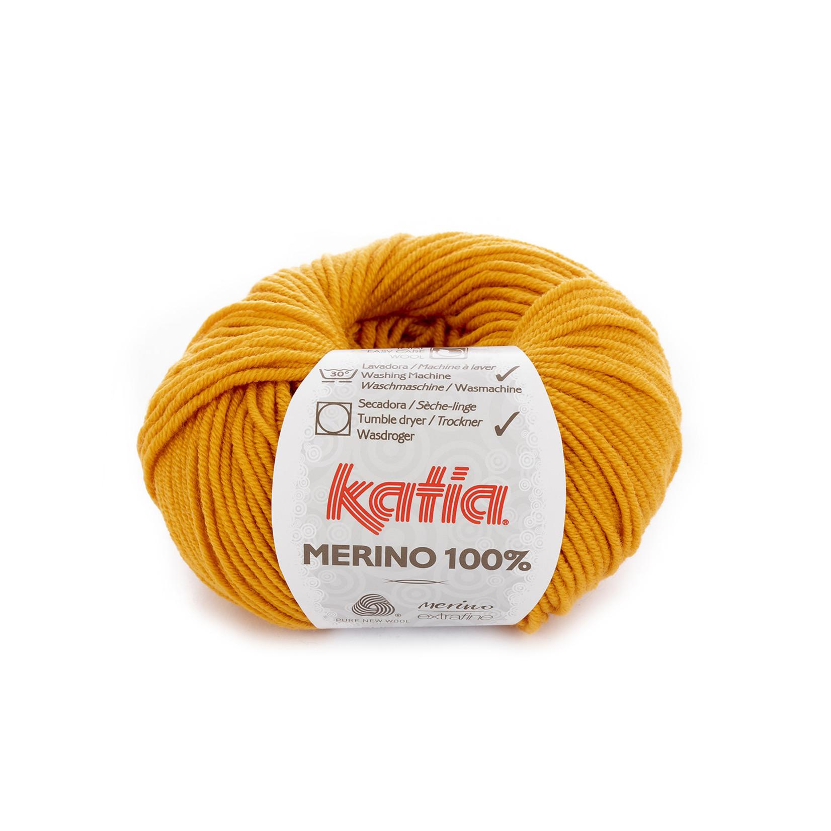 Katia Katia Merino 100% - 13 - Oranje_ - 50 gr. = 102 m.