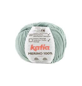 Katia Katia Merino 100% - 84 - Resedagroen - 50 gr.