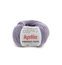 Katia Katia Merino 100% - 77 - Medium paars - 50 gr.