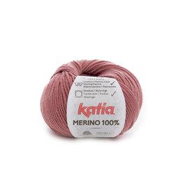 Katia Katia Merino 100% - 76 - Zalmrood - 50 gr.