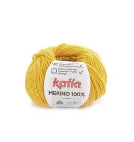Katia Katia Merino 100% - 63 - Mosterdgeel - 50 gr.