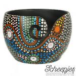 Scheepjes Scheepjes Yarn Bowl  Aboriginal Dot Painting