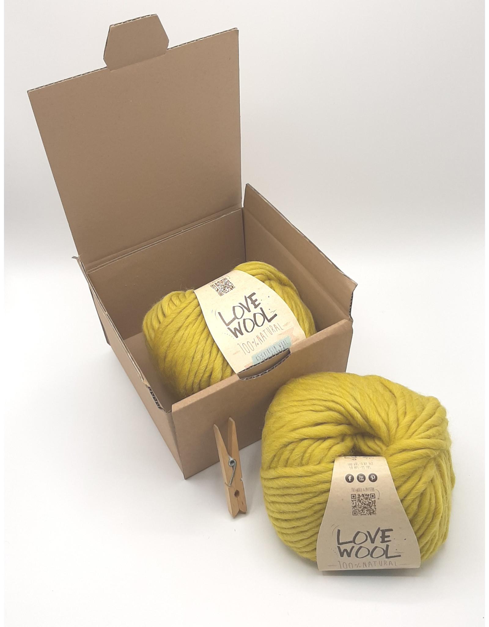 Katia Katia - Love Wool - 112 - Oker - bundel 2 bollen x 100 gr.