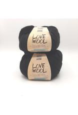 Katia Katia - Love Wool - 108 - Zwart - bundel 2 bollen x 100 gr.