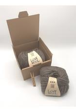 Katia Katia - Love Wool - 103 - Donker bruin - bundel 2 bollen x 100 gr.