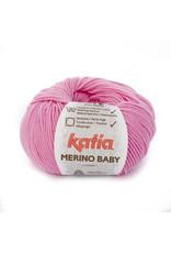 Katia Katia Merino Baby - kleur 58 roze - bundel 5 x 50 gr.