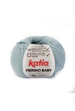 Katia Katia Merino Baby - kleur 80 licht jeans - bundel 5 x 50 gr.