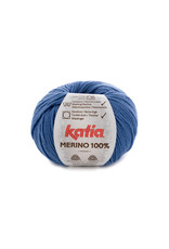 Katia Katia Merino 100% - 78 - Jeans - bundel 5 x 50 gr.