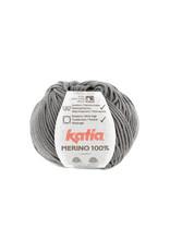 Katia Katia Merino 100% - 85 - Steengrijs - bundel 5 x 50 gr.