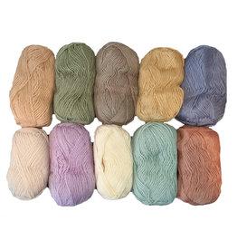 HollandWool Kleurassorti 10 Amigurumi- kleuren