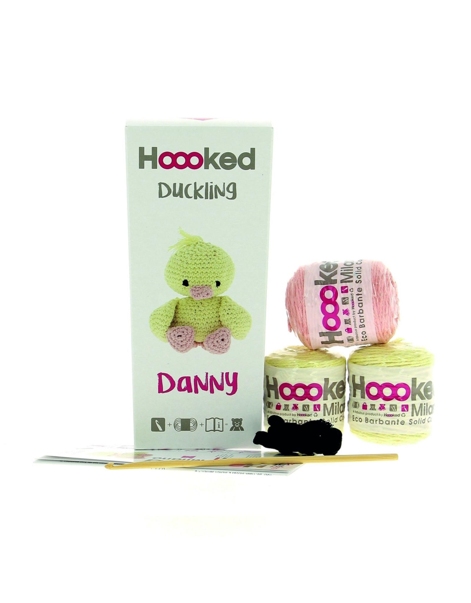 Hoooked Hoooked Amigurumi DIY Eendje Danny incl. vulling 250gr.