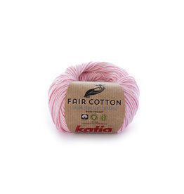 Katia Katia Fair Cotton 9 - bleekrood - 50 gr.