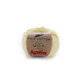 Katia Katia Fair Cotton 7 - lichtgeel - 50 gr.