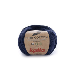 Katia Katia Fair Cotton 5 - donkerblauw - 50 gr.