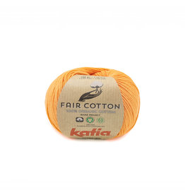 Katia Katia Fair Cotton 43 - pasteloranje - 50 gr.