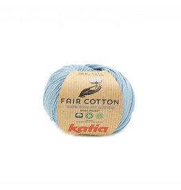 Katia Katia Fair Cotton 41 - grijsblauw - 50 gr.