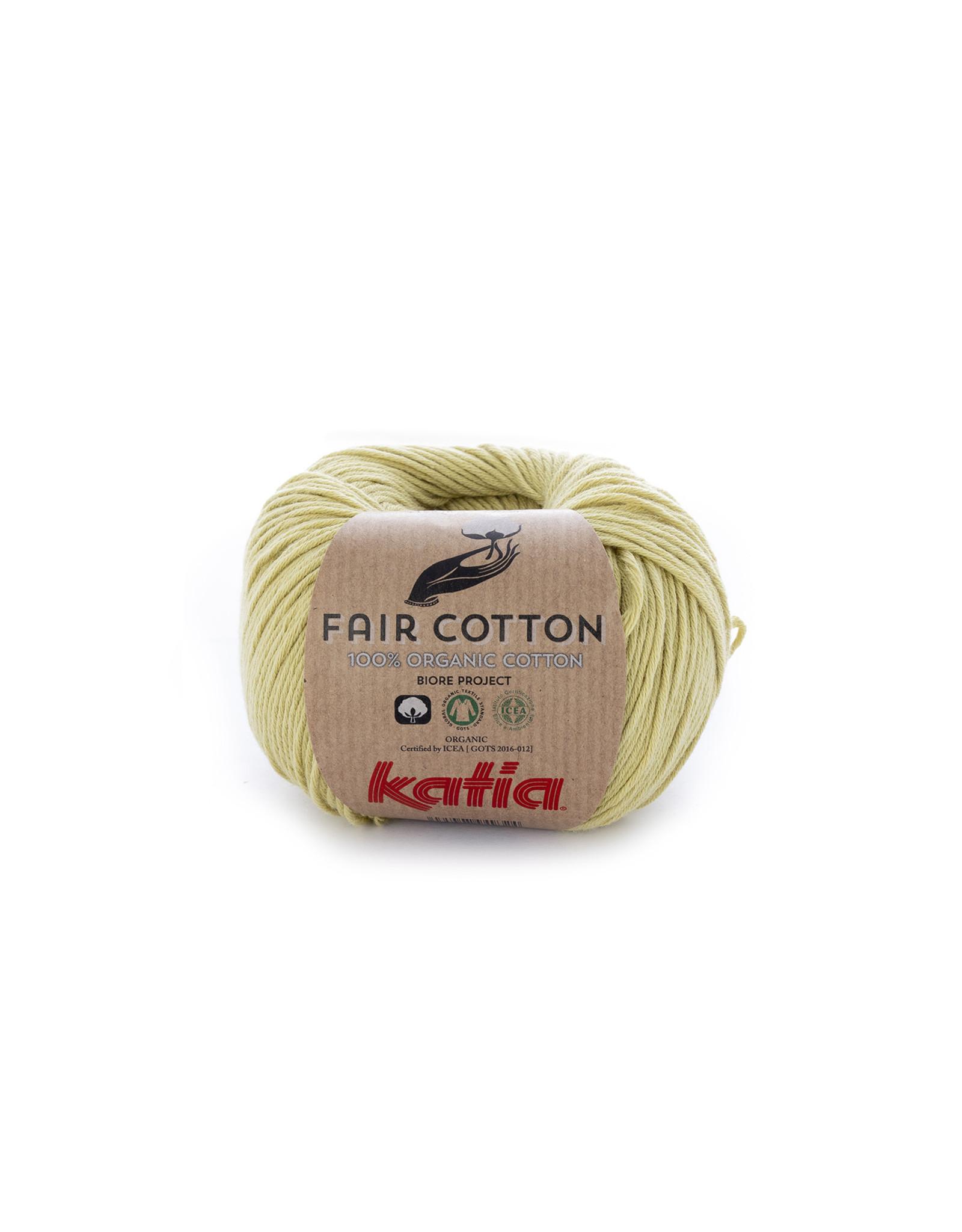Katia Katia Fair Cotton 34 - pistache - 50 gr. - 100% biol. katoen